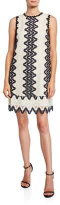 Kate Spade Sand Dune Sleeveless Lace Shift Dress