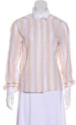 Alaia Embroidered Long-Sleeve top