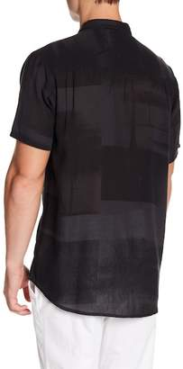 Neuw Bon Short Sleeve Print Modern Fit Shirt