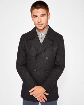 Ted Baker ZACHARY Double breasted peacoat