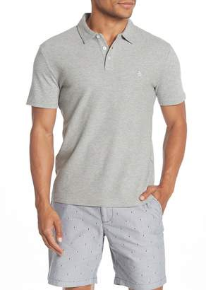 Original Penguin Textured Knit Slim Fit Polo