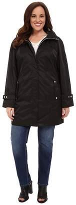 Calvin Klein Plus Plus Size Long Packable Anorak Women's Coat