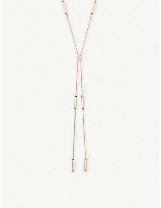 Kendra Scott Josephine necklace 14ct rose-gold plated necklace