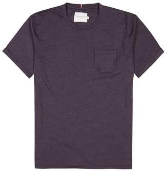 Les Deux Ensamble Burgundy Jersey T-shirt