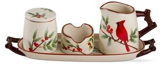 tag Greenery Creamer & Sugar 4-Piece Set