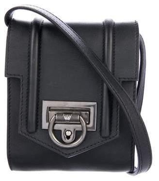 Reece Hudson Leather Flap Crossbody Bag