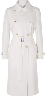 Max Mara Dalila Wool Trench Coat - White