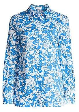 Escada Sport Women's Floral Cotton Blouse
