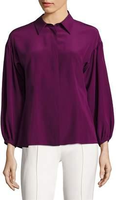 Escada Women's Silk Drop Shoulder Blouse