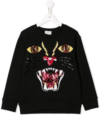 Gucci Kids sequin embellished sweatshirt