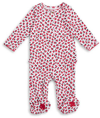 Kate Spade New York Floral Footie $38 thestylecure.com