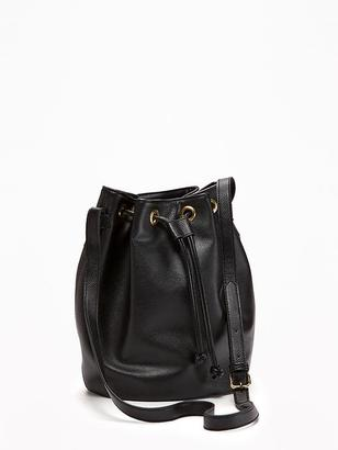 Sueded Bucket Bag for Women $32.94 thestylecure.com