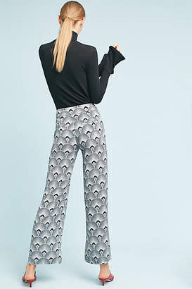 Second Female Fan-Printed Trousers