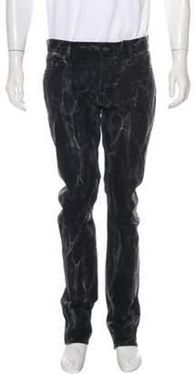 Saint Laurent 2016 D02 Marble Skinny Jeans w/ Tags