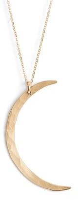 Women's Nashelle Moon Pendant Necklace $70 thestylecure.com