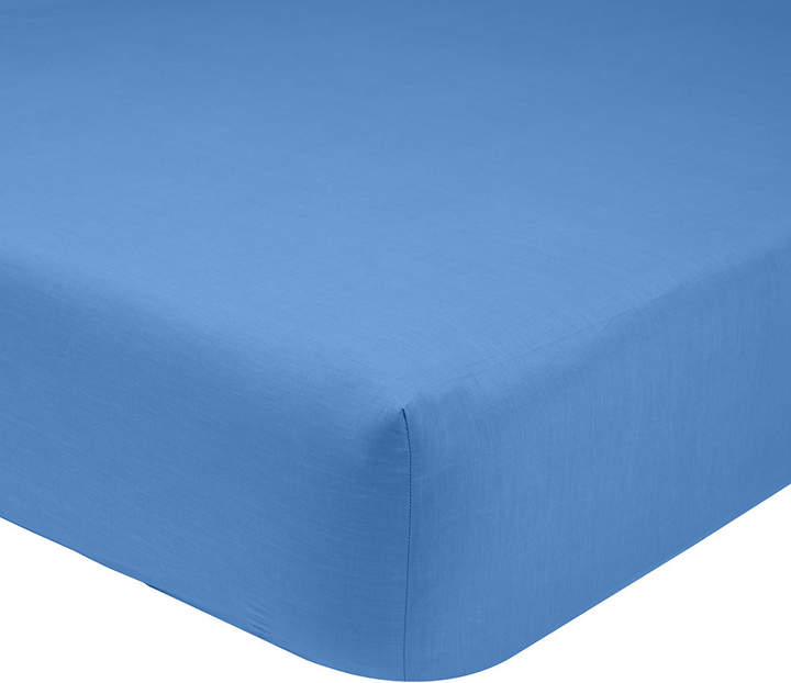 Olivier Desforges - Alcove Azur Fitted Sheet - Super King
