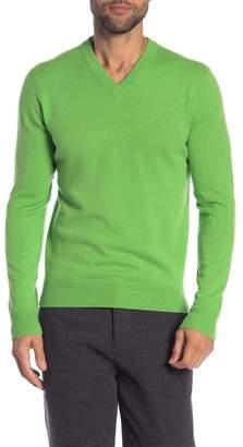 Quinn Cashmere V-Neck Sweater