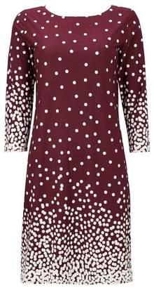 Wallis Berry Polka Dot Graduated Tunic Dress