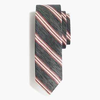 J.Crew Silk tie in dean stripe
