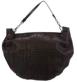 Bottega Veneta Intrecciato Leather Satchel