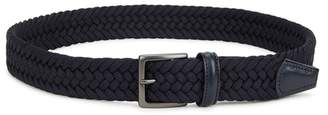 Andersons Anderson's Navy Woven Canvas Belt