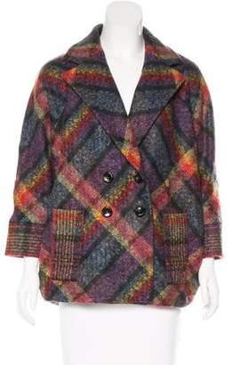 Diane von Furstenberg Didi Wool-Blend Coat