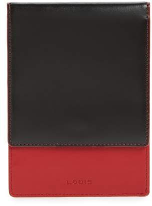 Lodis Los Angeles Audrey Under Lock & Key Skyler Leather Passport Wallet