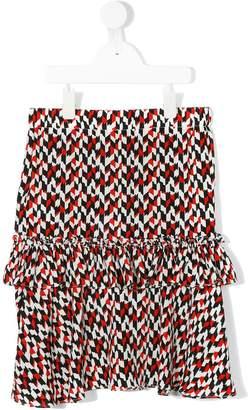 Marni graphic print skirt