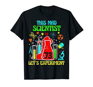 This Mad Scientist Is 73th Let's Experiment 1945 Bday Shirt