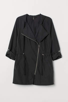 H&M H&M+ Modal-blend Parka - Black
