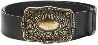 DSQUARED2 western buckle belt