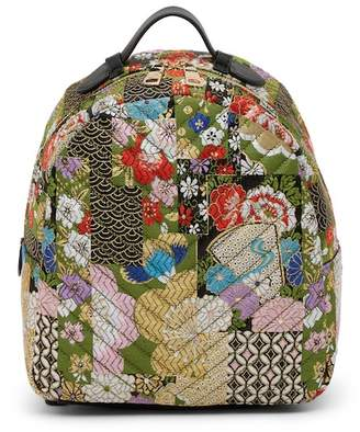 Steve Madden Lyla Patchwork Brocade Backpack