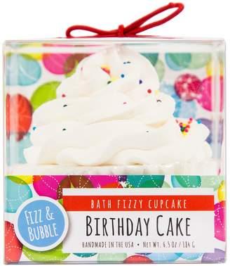 Fizz & Bubble Birthday Cake Bath Fizzy Cupcake