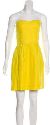 Rebecca Taylor Strapless Knee-Length Dress w/ Tags