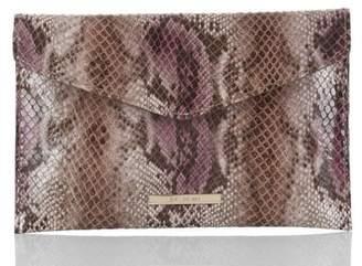 Brahmin Envelope Clutch Hibiscus