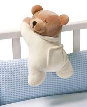 Prince Lionheart 0021s Slumber Bear with Silkie BEIGE