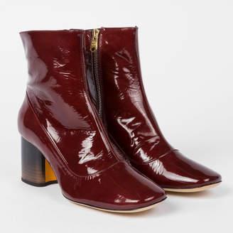0d11c6726ea Burgundy Patent Boots - ShopStyle UK