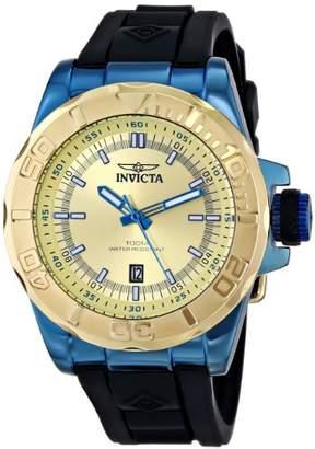 Invicta Men's 13797 Pro Diver Analog Display Japanese Quartz Black Watch