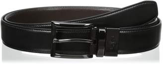 Dockers Big-Tall 32Mm Feather-Stitch Reversible Belt