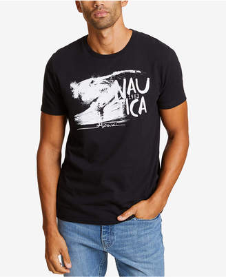 Nautica Men's Wave Graphic T-Shirt