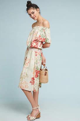 Donna Morgan Talia Off-The-Shoulder Petite Dress