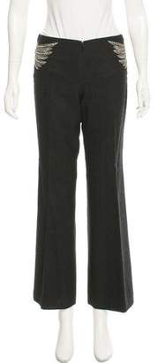 Tory Burch High-Rise Wool Pants