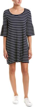 BB Dakota Bell-Sleeve Shift Dress