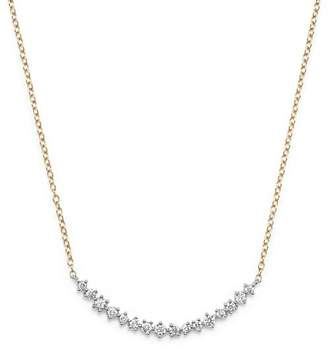 Bloomingdale's Diamond Scatter Necklace in 14K Yellow and White Gold, .50 ct. t.w.