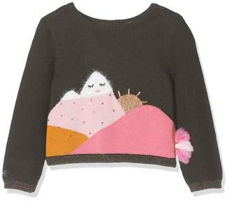 Catimini Baby Girls' Cp18063 Cardigan Brown (Bronze 57) 18-24 Months (Size: 2A)