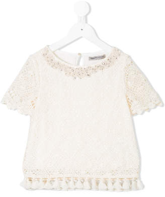 Ermanno Scervino embroidered blouse
