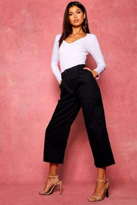 8a1c55ee7b5e boohoo Cropped Trousers For Women - ShopStyle UK