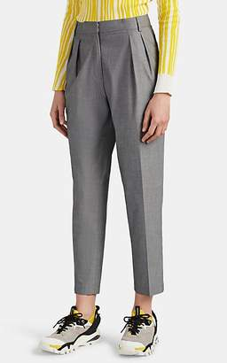 LES COYOTES DE PARIS Women's Romeo Pleated High-Rise Trousers - Gray