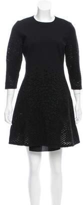 Christian Dior Wool Cutout Dress