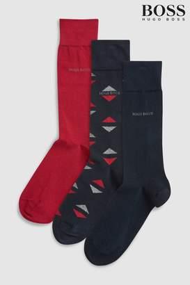 Next Mens BOSS Multi Gift Box Sock Three Pack